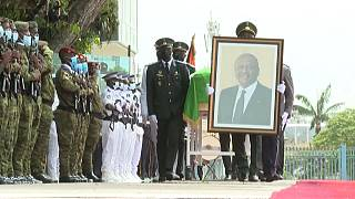 Ivory Coast pays tribute to the late Prime Minister Hamed Bakayoko