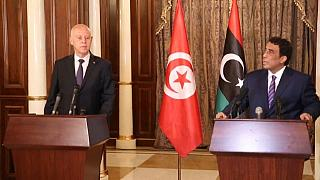 Tunisia's Saied visits Libya, first presidential trip since 2012