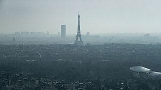 Archives : vue de Paris, le 2 mars 2021