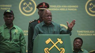 President of Tanzania John Magufuli