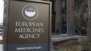 Les locaux de l'Agence européenne du médicament à Amsterdam, aux Pays-Bas, le 16 mars 2021