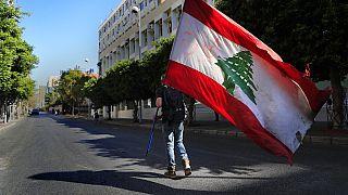Manifestation à Beyrouth, 16 mars 2021
