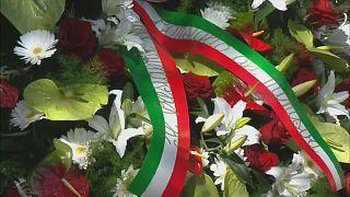 Trauer in Bergamo: Mario Draghi gedenkt der Corona-Toten