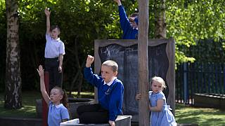 Children at Seymour Road Academy take part in a Commando Joe's character education program
