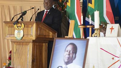 South Africa's late Zulu King Goodwill Zwelithini laid to rest