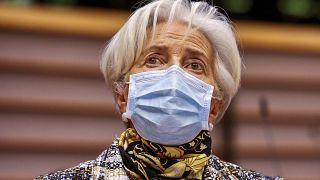 """Lagarde ve """"probable"""" una caída del PIB europeo"""