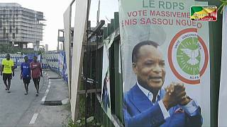 Young people of the Congo speak on longtime President Nguesso before vote