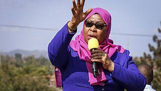Tanzanya Devlet Başkanı Yardımcısı Samia Suluhu Hassan