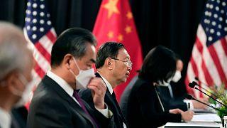 Alaska'da ABD ve Çinli yetkililer bir araya geldi