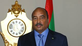 صورة أرشيفية للرئيس الموريتاني السابق محمد ولد عبد العزيز