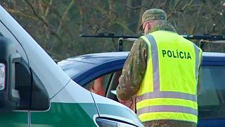 Ellenőrzés a szlovák határon