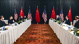 Réunion sino-américaine à Anchorage, Alaska, 19 mars 2021