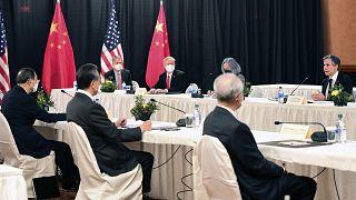 USA und China: Außenministertreffen mit viel Konfliktpotenzial