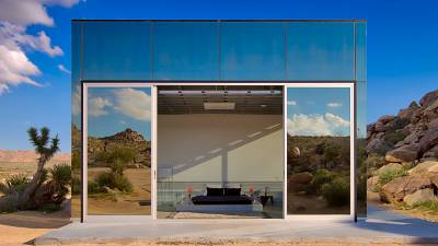 Invisible House in Joshua Tree National Park, California, USA