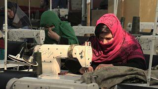مشغل الخياطة - أفغانستان
