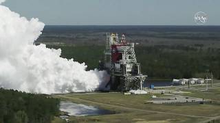 اختبار ناجح لمحركات صاروخ ناسا المستقبلي