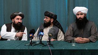 نشست خبری طالبان