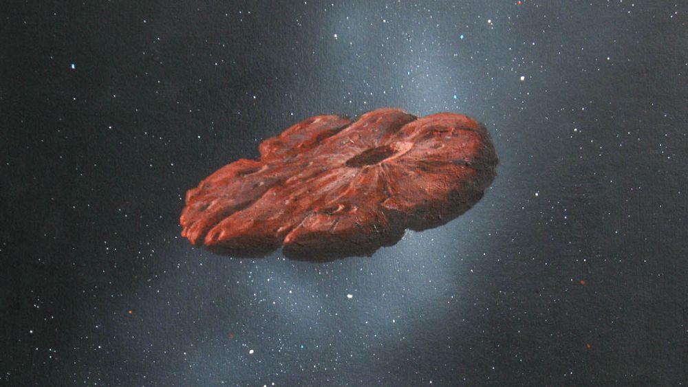 Resuelto el misterio del Oumuamua? Un nuevo estudio asegura que procede de otro sistema solar   Euronews