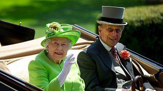 ملکه بریتانیا و شاهزاده فیلیپ