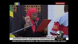 Samia Suluhu Hassam Presidente della Tanzania