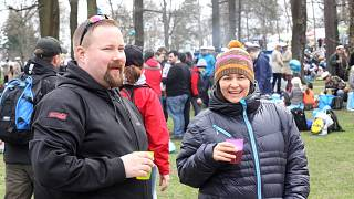 Finlandiya'nın başkenti Helsinki'de düzenlenen küçük bir festivalden kare.