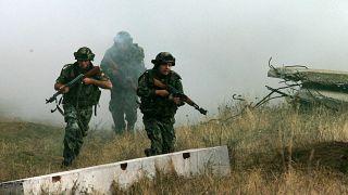 تدريبات عسكرية مشتركة بين الجيشين البلغاري والأميركي
