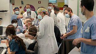 Des médecins au Liban