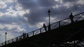 Pont des Arts, París, Francia 19/3/2021