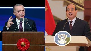 Cumhurbaşkanı Erdoğan ve Mısır Devlet Başkanı Sisi