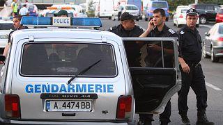 عکس آرشیوی از نیروهای پلیس بلغارستان