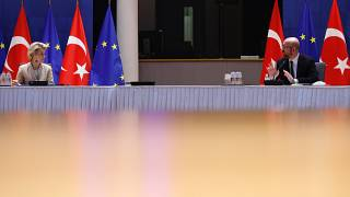 Despite the diplomatic reset, EU will not rule out sanctions against Turkey.