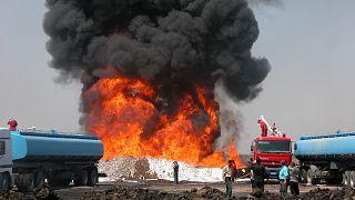 السعودية نيوز |      السعودية: هجوم بطائرات مسيرة يؤدي لاندلاع النار في مصفاة الرياض لتكرير النفط