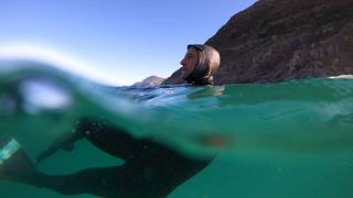 Meet the bodysurfers taking on Cape Town's ocean