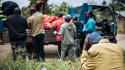 RDC : au moins 200 morts et 40 000 déplacés par le groupe ADF
