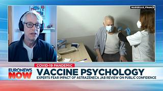 Robert West, a professor of health psychology at University College London, speaking to Euronews on March 19, 2021