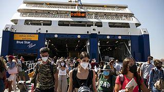 Λιμάνι Πειραιά, 2020