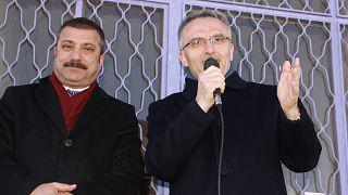 Şahap Kavcıoğlu (Solda), Naci Ağbal