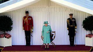 صورة أرشيفية لمراسم عيد ملكة بريطانيا