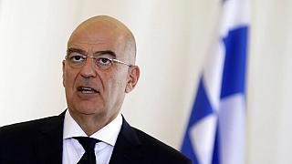 Greek Foreign Minister Nikos Dendias