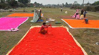 A színek fesztiváljára készül India