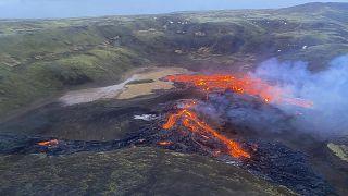 Geldingadalsgos: Vulkanausbruch in Island
