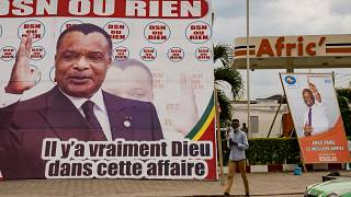 Political campaigns for presidential election end in Congo