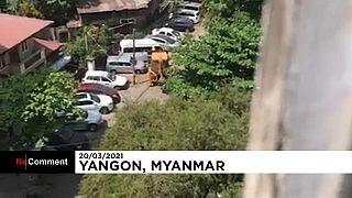 Bulldozer en Birmanie