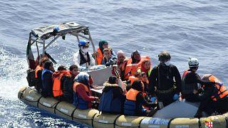 Akdeniz'de kaçak göç