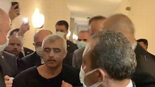 Ömer Faruk Gergerlioğlu TBMM'de gözaltına alındı