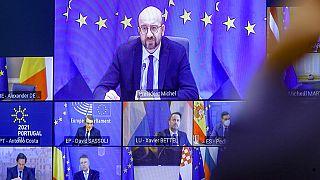 25 Şubat'taki AB Zirvesi video konferans yöntemiyle yapıldı