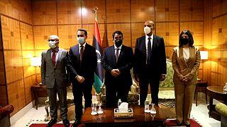 Luigi Di Maio è stato il primo ministro occidentale a incontrare i membri del nuovo esecutivo libico dopo l'insediamento
