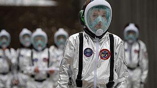 Alunos suíços simulam viagem a Marte