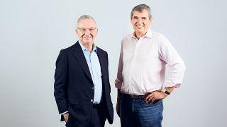El oncólogo Josep Baselga (izquierda de la foto) 01/2021