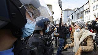 Proteste in Hanau am 20. März 2021